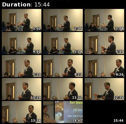 Contact sheet for Murad-Qureshi's video